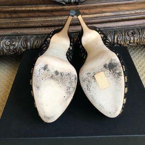 Giuseppe Zanotti Shoes - Giuseppe Zanotti platform mesh/gold glitter heals